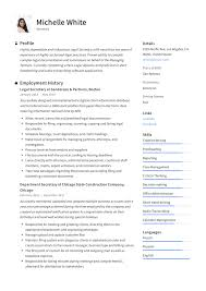 Secretary Resume & Writing Guide | +12 TEMPLATE SAMPLES | PDF | 30 Legal Secretary Rumes Murilloelfruto Best Resume Example Livecareer 910 Sample Rumes For Legal Secretaries Mysafetglovescom Top 8 Secretary Resume Samples Template Curriculum Vitae Cv How To Write A With Examples Assistant Samples Khonaksazan 10 Assistant Payment Format Livecareer Proposal Sample Cover Letter Rsum Application