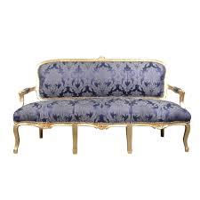 canape louis xv louis xv sofa blue rococo louis 15 furniture