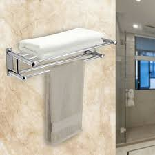 gedotec design handtuchhalter bad handtuchstange edelstahl
