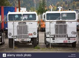 100 Trucks For Sale In Oregon For Sale In A Yard In Portland USA Stock
