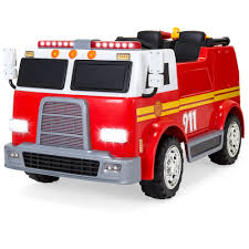 BestChoiceProducts: Best Choice Products 12V 2.4MPH 3-Speed Kids ... Fire Truck Rcues House Child Drawing Stock Image Of Save 12v Kids Police Engine Ride On W Remote Control Water Unboxing And Review Dodge Ram 3500 In Picture Free Download Best On Ride To School Fire Truck The Ellsworth Americanthe China Pure Electric Playing Inspired Iron Felt Applique Ninis Handmades Decorate All Point Bulletin Box Play For Stickers Detail Feedback Questions About 164 Scale Alloy Ambulancefire Weskidsfiretruck Enterprise