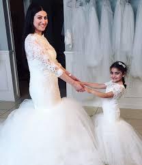 aliexpress 2016 beautiful white ivory lace long mermaid