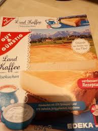 käse kuchen edeka gut günstig 1250 g
