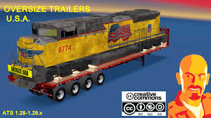 OVERSIZE TRAILERS U.S.A. (ATS Version) 1.29-1.30.x | American ... Truck Trailer Transport Express Freight Logistic Diesel Mack Two Semi Tractor Trucks With Trailers At A Truckstop On Inrstate Volvo For Sale Commercial 888 8597188 Yellow Peterbilt And Reefer Thermo King Show Of Truck Beamng Drive Alpha Pickup Truck Trailer Small Island Usa Fuel Tank 10 Ats American Simulator Mod Rc Semi Tamiya With Dickie Linde H40 Fork Lift Skins Trailers Mexicousa Companies 12 Chicago Illinois Usa May 3 2014 Stock Photo 213470983 Shutterstock Android Ios Youtube Double Box