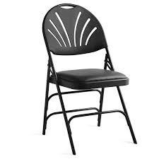 Folding Chairs At Walmart by Samsonite Xl Fanback Steel U0026 Vinyl Folding Chair Case 4