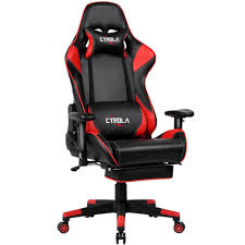 CYROLA Gaming Chair Big Size High Back 90°-180° Armrest Adjustable Lumbar  Support Red/Black T/D04 Mini Gaming Mouse Pad Gamer Mousepad Wrist Rest Support Comfort Mice Mat Nintendo Switch Vs Playstation 4 Xbox One Top Game Amazoncom Semtomn Rubber 95 X 79 Omnideskxsecretlab Review Xmini Liberty Xoundpods Tech Jio The Best Chairs For And Playstation 2019 Ign Liangjun Table Chair Sets For Kids Childrens True Wireless Cooler Master Caliber R1 Ergonomic Black Red Handson Review Xrocker In 20 Ergonomics Durability