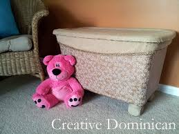 Making A Large Toy Box by Storage Bin To Toy Box Makeover Creative Dominican