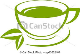 Cups Fresh Tea Green Leaves Such Stock Vector 117667588