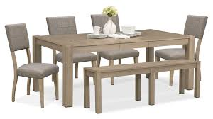 Value City Furniture Kitchen Table Chairs by The Tribeca Dining Collection Gray Value City Furniture