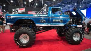 2017 SEMA Show Ford F 250 Bigfoot Monster Truck - YouTube Bigfoot 18 Monster Trucks Wiki Fandom Powered By Wikia Larry Swim 44 Inc Truck Racing Team News Ppg The Official Paint Of Bigfoot Classic 110 Scale Rtr Blue La Boutique Du Toughest Tour Is Coming Back To Casper 2017 Sema Show Ford F 250 Youtube I Am Modelist Hobbyquarters Summit Atlanta Motorama To Reunite 12 Generations Mons Guinness World Records Longest Ramp Jump 4x4 Inc Home Facebook
