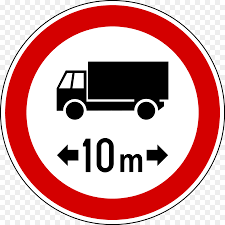 100 Sign Truck Traffic Sign Road Vehicle Truck Png Download 10041004