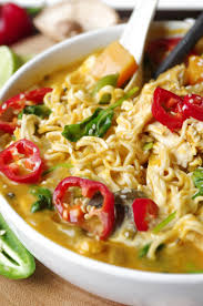 Thai Pumpkin Curry Soup Recipe by Spicy Thai Pumpkin And Butternut Squash Ramen With Chicken