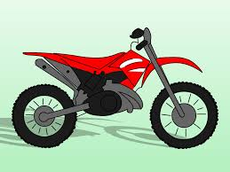In This Tutorial You Will Learn How To Draw Dirt Bikes Kind Of Motorbike