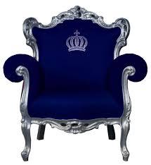 pompöös by casa padrino luxus barock sessel blau silber pompööser barock sessel designed by harald glööckler
