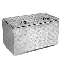 100 Black Truck Box 30 X 18 Aluminum Pickup Trunk Bed Tool Underbody Trailer