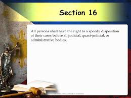 Philippine Constitution 1987 Article 3 Bill of Rights