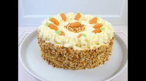 rüblikuchen carrot cake mit frischkäse frosting cheese frosting