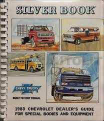 100 Dealers Truck Equipment 1980 Chevrolet Silver Book Special Dealer Album