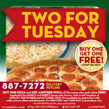 Papa Johns Coupons Buy One Get One Free : Print Store Deals