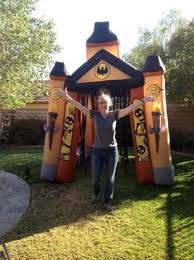 Airblown Halloween Inflatable Archway Tunnel by 10 U0027 Tall X 9 U0027 Wide Airblown Halloween In Walmart Com