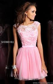 pink cocktail dress with sleeves vosoi com