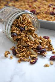 Pumpkin Flaxseed Granola Nutrition Info by Pumpkin Spice Buckwheat Granola Nutrition To Fit