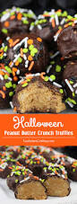 Halloween Potluck Sign In Sheet by Halloween Peanut Butter Crunch Truffles Two Sisters Crafting