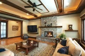 craftsman ceiling light fans lights living room traditional with