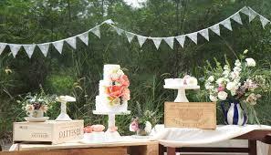 Wedding Dessert Table Outdoor