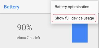 android oreo feature spotlight more traditional battery stats