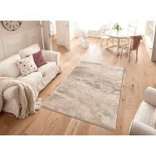 my home teppich marmor rechteckig 12 mm höhe marmor optik wohnzimmer