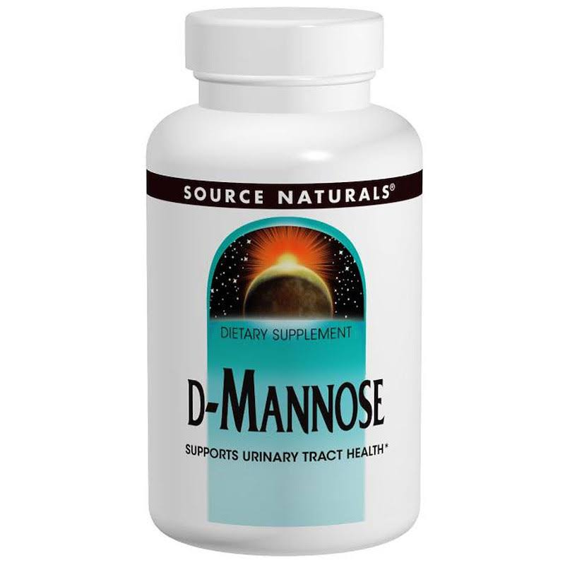 Source Naturals D-Mannose Supplement - 500mg, 120 Capsules