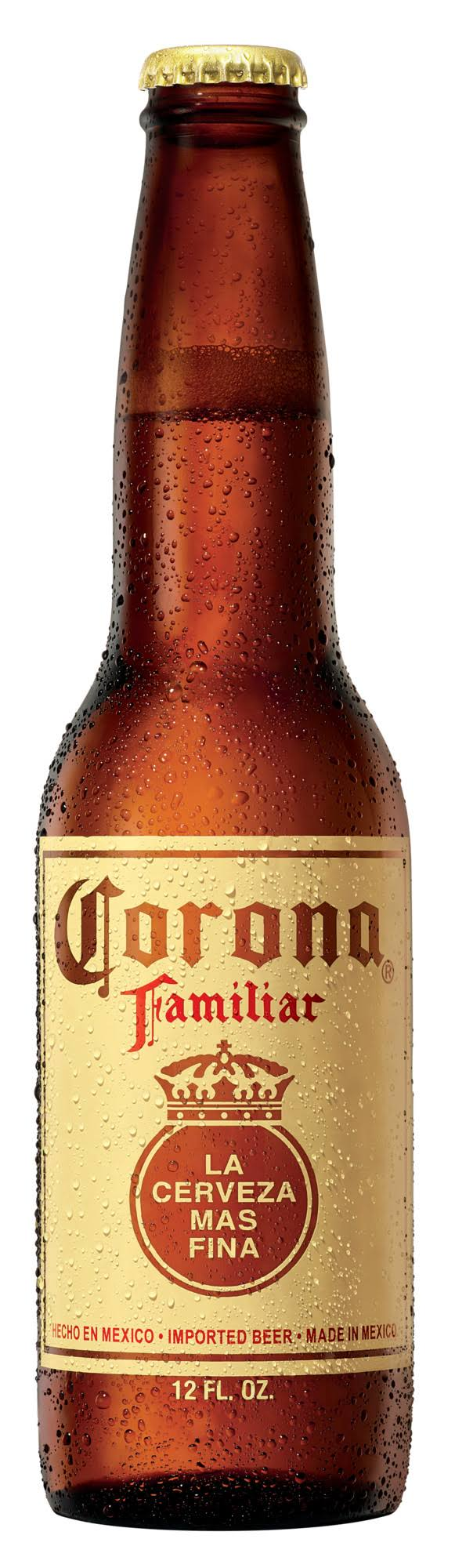 Corona Beer, Imported, Familiar - 12 fl oz