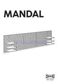 Ikea Mandal Headboard Instructions by Leia Online Instruções De Montagem Para Ikea Mandal Headboard 94 1