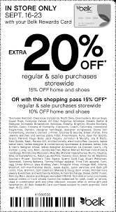 Belk Coupons - 15-20% Off At Belk, Or Online Via Promo Code ... Evine Coupon Code Free Shipping Rox Discount 2019 Remit2india Promo Wil 25 Indianapolis Airport Parking Belk Black Friday Couponshy Pinned December 11th Extra 20 Off At Or Online Via Promotion Stores Shoes Expedia Hotel Sassy Mall Catalogs Sales Ad Belk Madison Reed March Pietros Grand Rapids Coupons 10 50 More July 2018 Namecoins Coupons Wallypark San Diego Aaa Membership Georgia In Store Popeyes Jackson Tn