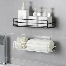 neu wandregal küche bad ablage badregal ohne bohren halter