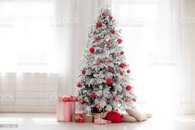 Home Interior Pics Weihnachten Home Interior Mit White Tree Stockfoto Und Mehr Bilder Band