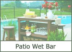 Patio Wet Bar Ideas by Outdoor Patio Furniture Ideas 2016 Pictures U0026 Decor