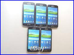 Lot of 5 Samsung Galaxy Avant SM G386T T Mobile Smartphones AS IS