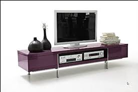 dreams4home tv lowboard jackson in schwarz weiß lila