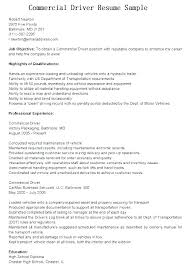 Truck Dispatcher Resume For Driver