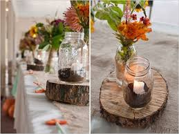 Rustic Fall Wedding Table Decorations Images Da On Jar Centerpieces Ideas Weddi