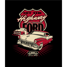 Hit The Highway In A Restored Ford T-Shirt   Dennis Carpenter Ford ... 1956 Ford F100 Panel Hot Rod Network Steering Wheel Dennis Carpenter Restoration Parts With Regard Vintage Ford Coe Carpenter Coupons Sti Mobile Refill Coupon Partsrandy Catalog 80 96 Trucks Pdf A8tz533a Drag Link Repair Kit Youtube Pickup 4852 Taillight Bracket Repair Truck Enthusiasts Forums No 34t 481956 Dennis Carpenter Ford Restoration Parts 671972 Truck Back