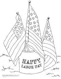 Kids Can Celebrate A Happy Labor Day By Print This Free Coloring Page And Color It