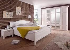 schlafzimmer komplett rome landhausstil pinie weiss holz