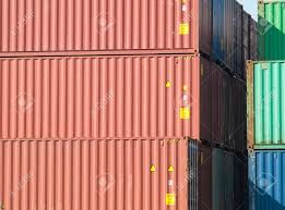 104 40 Foot Shipping Container Stack Of Freight S Side View Stock Photo Picture And Royalty Free Image Image 1655762