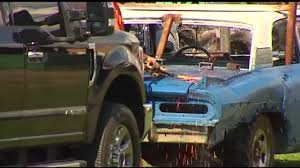 Allentown Fair Wraps Up With Demolition Derby - WFMZ Wrecked Truck During Demolition Derby Editorial Stock Photo Image Combine Local Driver Salary Trucks Pickup Truck Demolition Derby Youtube Douglas County Winners Crowned Herald Q927 Wqel Nice Day For A Drive At Anoka Fair Star Cummins In Dodge Diesel Dresden 2015 Pro Mod Action Auto Demo Fairgrounds Driveshaft Ejected Into Crowd Three Injured Cars And After
