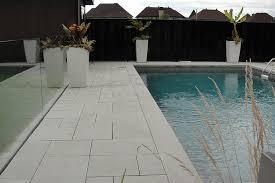 modern pool deck tiles montreal outdoor living pool