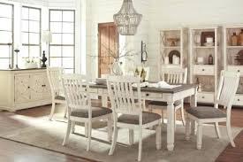 White Wood Dining Room Sets And Gray Rectangular Set Dark