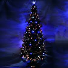 Fiber Optic Christmas Trees On Sale by Optic Fiber Christmas Trees The 4 Fiber Optic Twinkling Tree White